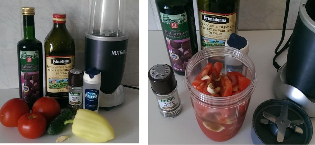 preparare gazpacho